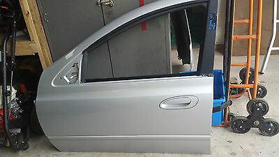 Ford Bf Futura  L/hand Front Passenger Door Shell Paint Code : O9 Silver