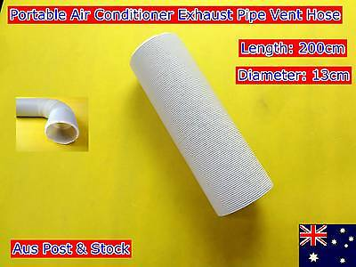 Portable Air conditioner Spare parts Exhaust pipe vent hose only (200cmx13cm)