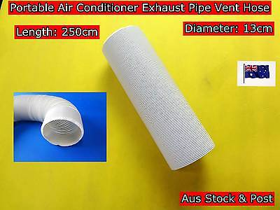 Portable Air Conditioner Spare Parts Exhaust Pipe Vent Hose Only (250cmx13cm)