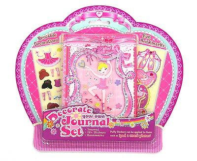 Wholesale Lot 12 x Girls Decorate Your Own Journal Diary Notebook NEW Ballet