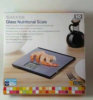 Salter Glass Nutritional Scale