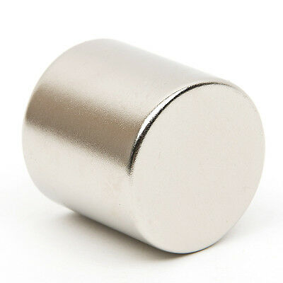 Neodymium Super Strong Magnet Round Disc Rare Earth N52 Grade 30mm x 30mm Craft