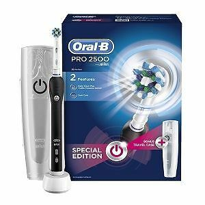 Oral-B Pro 2500 Electric Rechargeable Toothbrush - Black