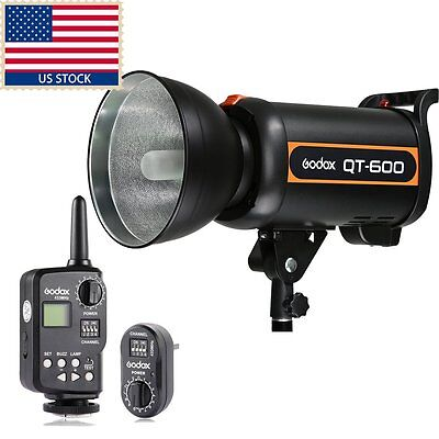 Godox QT600w 600Ws High Speed Studio Strobe Flash Light FT-16 Trigger Kit
