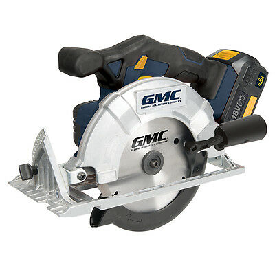 GMC GMC18CS 18v Li-Ion Cordless Circular Saw 165mm