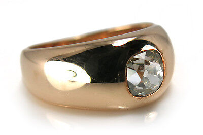 Damen Ring Brillant ca. 0,60 ct. 585 Gelbgold [BRORS 13329]