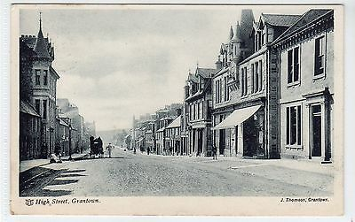 HIGH STREET, GRANTOWN-ON-SPEY: Morayshire postcard (C20232)