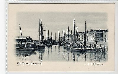 EAST HARBOUR, LOSSIEMOUTH: Morayshire postcard (C19995)