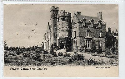 LOCHTON CASTLE, near INCHTURE: Perthshire postcard (C19919)