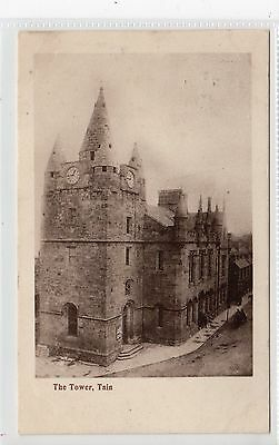 THE TOWER, TAIN: Ross-shire postcard (C20003)