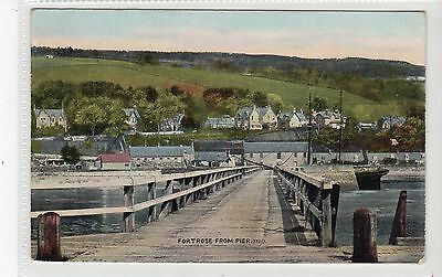 FORTROSE FROM PIER: Ross-shire postcard (C20012)