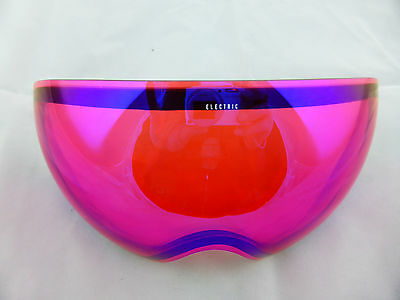 Electric EG3 Snow Goggle Replacement Lens Rose/Blue Chrome - New in Box