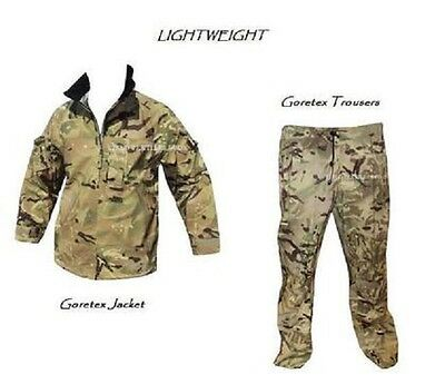 British Army - Mtp Lightweight Goretex Suit - Jacket + Trousers - Various Sizes