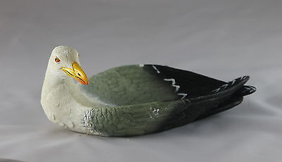 SEAGULL PLATTER, Nibbles Plate - Bird Serving Platter -  Nick Nack or Key Holder