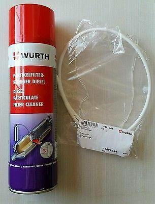 Brand New Genuine Wurth Dpf Diesel Particulate Filter Cleaner  400Ml Spray Hose