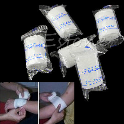 5 Rolls of Elastic Adhesive Stretch Bandage By The Roll Clean Medical