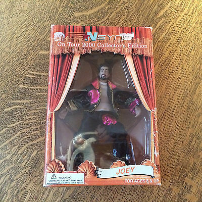 NSYNC On Tour 2000 Collector's Edition Marionette Joey Fatone NIB Action Figure