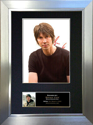 BRIAN COX Signed Autograph Mounted Reproduction Photo QualityA4 Print 337