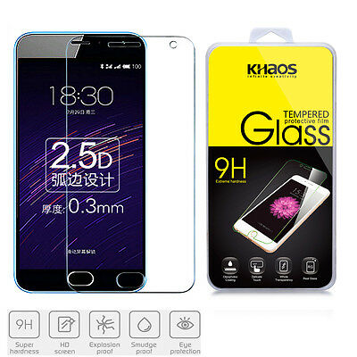 KHAOS Premium Tempered Glass Screen Protector For Meizu M2 Note With 9H Hardness