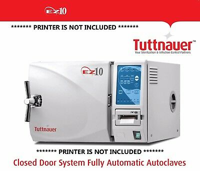 Tuttnauer EZ10 - The Fully Automatic Autoclave Brand NEW