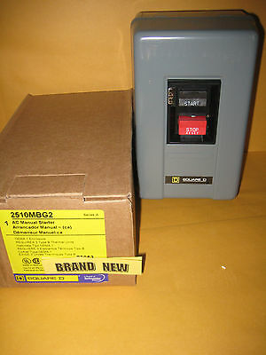 2510MBG2  Manual Starter 2510 MBG2  -------------  BRAND NEW