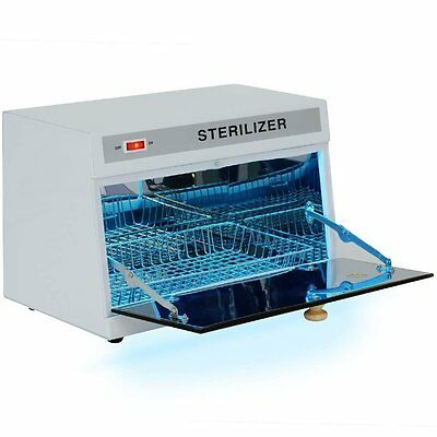 Professional UV Sterilizer Cabinet Ultraviolet Tabletop Salon Tool Disinfect New