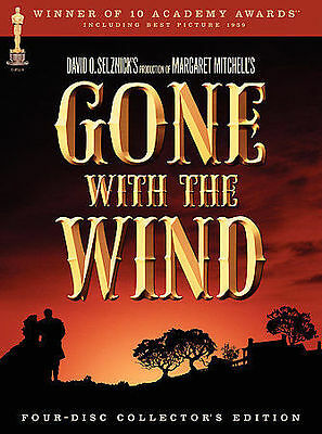 Gone With the Wind (DVD, 2004, 4-Disc Set)