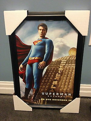 """SUPERMAN RETURNS"" FRAMED PICTURE (#3 of 3)"