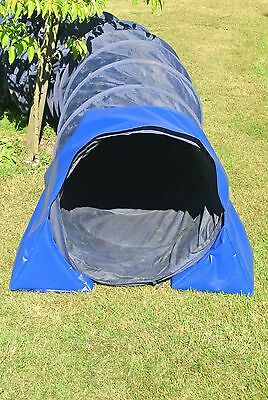 Dog Agility Training Tunnel Sand Bags Indoor,Outdoor Apparatus,UV,PVC,10 Colours