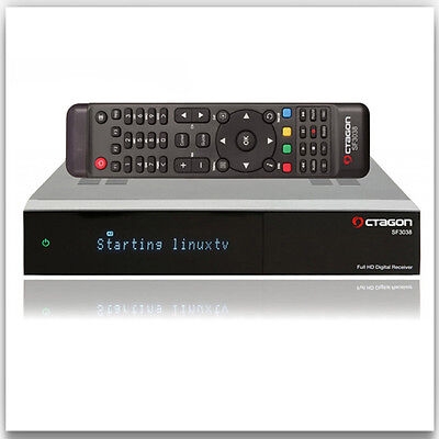 OCTAGON SF3038 E2 HD 2 x DVB-C/T2 Tuner Dual-Core Full HD TV Kabel terrest Linux