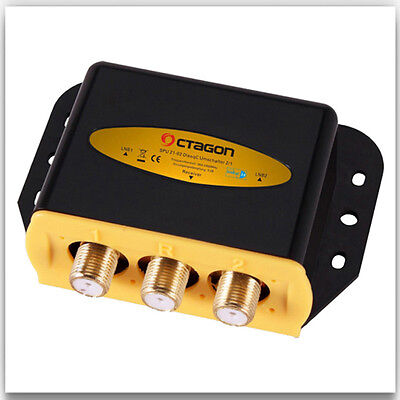 DiSEqC 2/1-Octagon Optima ODS 21-02 HQ Gold HDTV Switch 3D