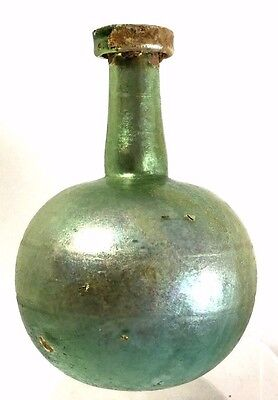Attractive Ancient Roman Glass Jar .