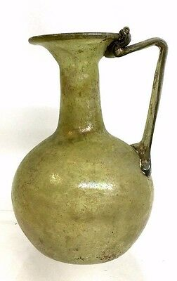 Ancient Roman Glass Jug .