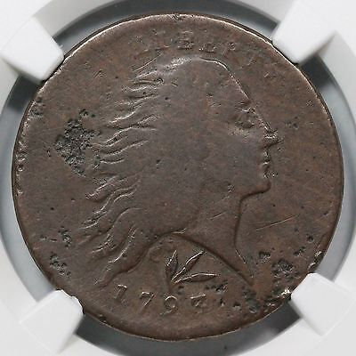 1793 S-11a VG Details Vine & Bars Wreath Large Cent Coin 1c