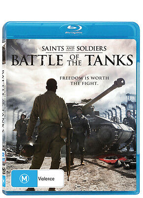 Saints And Soldiers 3 - Battle Of The Tanks WAR (Blu-ray) NEW/SEALED