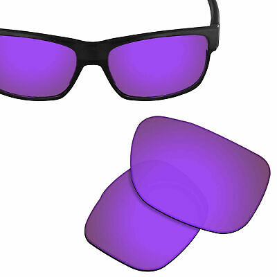 880f07d5c88 Polarized Replacement Lenses for-OAKLEY TwoFace Sunglasses Violet Purple  UVA UVB