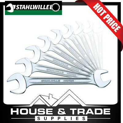 Stahlwille Spanners 12 Piece 6x7-30x32mm Metric Double Open Ended 96400306