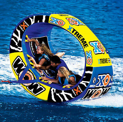 Ski Tubes And Towables For Boating Water Wow Inflatable Ski Heavy Duty 1-3Person