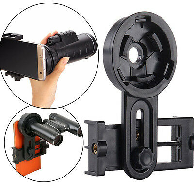 Universal Microscope Telescope Interface Bracket Cell Phone Holder Adapter Mount