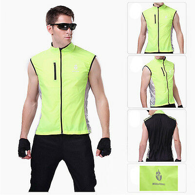 Unique Outdoor Sports Cycling Wind Coats Sleeveless Jackets Vest Gilet M-XXXL