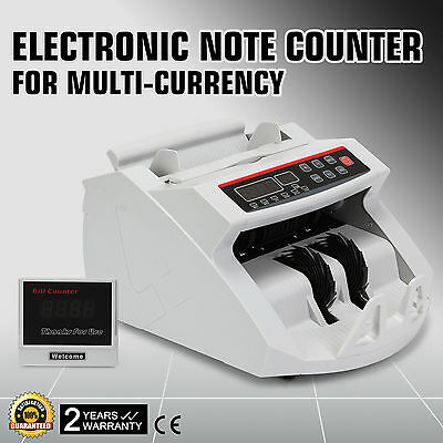 Bank Note Counter Money Counting machine Fast Count Banknote Pound Cash Currency