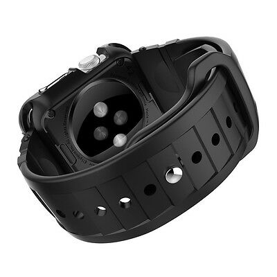 Genuine Spigen Rugged Band for Apple Watch Strap Replacement Exchange Band 42mm