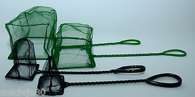 Easy Catch Net,Aquarium Fish Nets, Cleaning For Fresh, Salt Water  Green