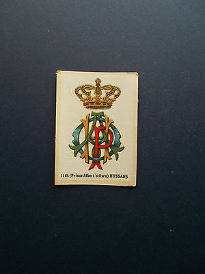Original Silk Cigarette Cards - Crest & Badges Of The British Army