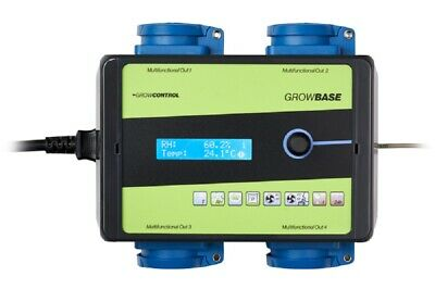 GROWBASE EC PRO climate controller CO2 and time switch function