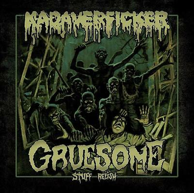 KADAVERFICKER/GRUESOME STUFF RELISH - Split EP Rompeprop Gutalax Cliteater Stoma