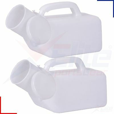 Portable Male Urinal 1000ml Travel Urine Bottle with Carry Handle