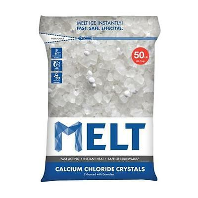 Snow Joe MELT50CC 50 lbs. Calcium Chloride Crystals Ice Melter
