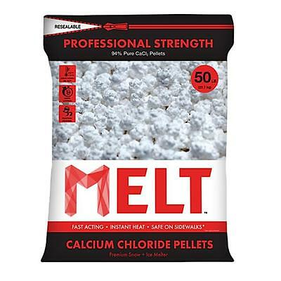 Snow Joe 50 lbs. Professional Strength Calcium Chloride Pellets Ice Melter