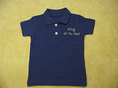 Daf Boys & Girls Polo Shirt 0 Months-3 Years Style 1